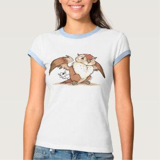 Mystic Reflections Owl Shhh T-Shirt