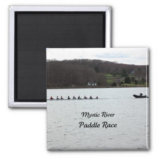 Mystic River Paddle Race Magnets