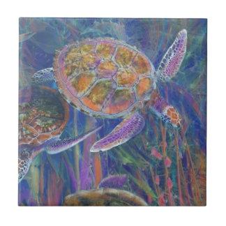Mystic Sea Turtles Tile