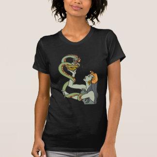 Mystic Serpent Priestess T-shirts