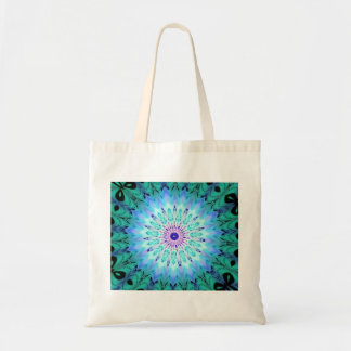 Mystic Singing Crystal Kaleidoscope Budget Tote Canvas Bags