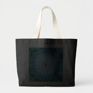 Mystic Singing Crystal Kaleidoscope Jumbo Tote Jumbo Tote Bag