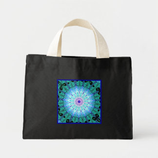 Mystic Singing Crystal Kaleidoscope Small Black Canvas Bags