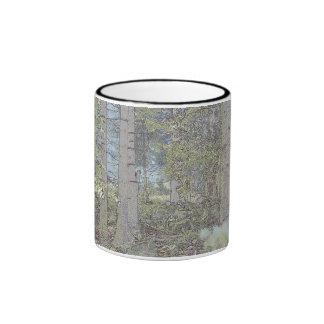 Mystic spruce forest mugs