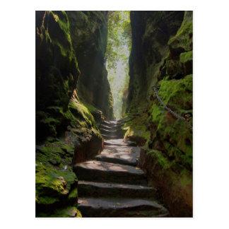 Mystic Stairway Postcard