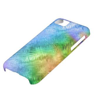Mystic Topaz Blue Glassy Texture iPhone 5C Case