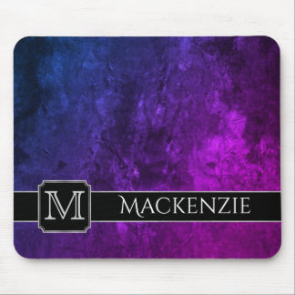 Mystic-Topaz Office   Name Purple Pink Blue Ombre Mouse Mat