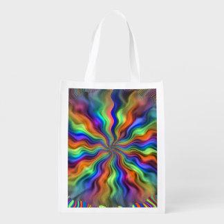 Mystic Vibrations Reusable Grocery Bag