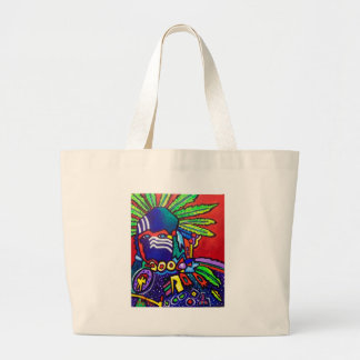 Mystic Warrior # 46 by Piliero Jumbo Tote Bag