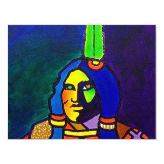 Mystic Warrior o-11 11 Cm X 14 Cm Invitation Card