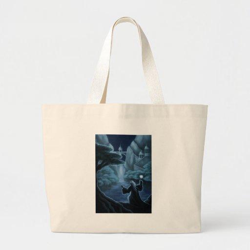 mystic waters fantasy tote bag