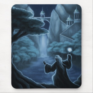 mystic waters fantasy mouse pad