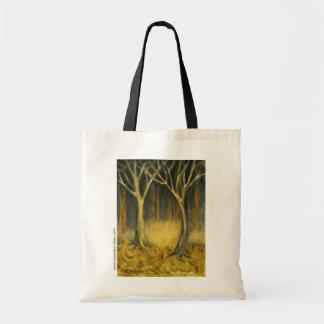 """Mystic Woods"" canvas bag"