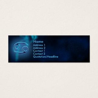 Mystic Zodiac - Cancer Mini Business Card