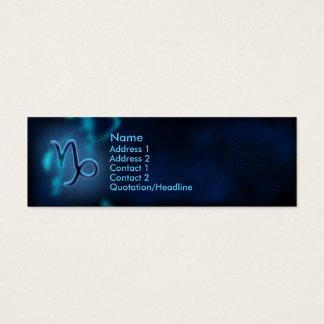 Mystic Zodiac - Capricorn Mini Business Card