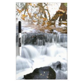 Mystical Babbling brook Dry Erase White Board