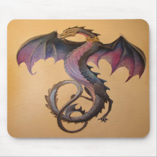 Mystical Beast of the Night Mousepad