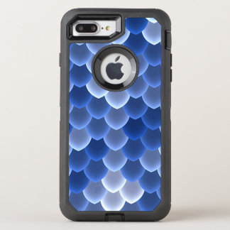 Mystical Blue and White Scale OtterBox Defender iPhone 8 Plus/7 Plus Case