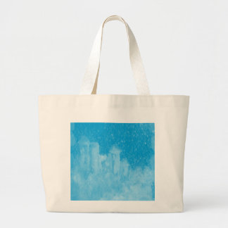 Mystical Castle Baby Blue Snowy Night Bags