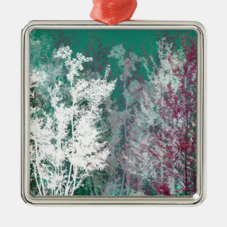 Mystical forest christmas ornament