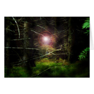 Mystical Forest Greeting Card