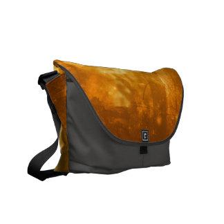 Mystical forest messenger bag