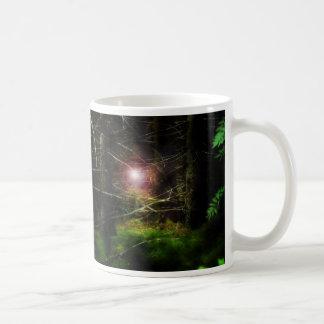 Mystical Forest Basic White Mug