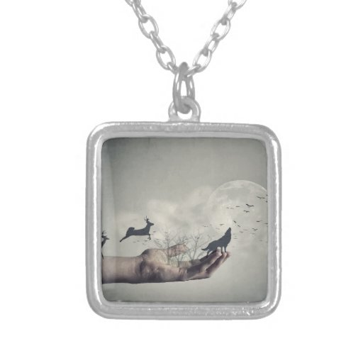 Mystical Forest Custom Necklace