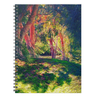 Mystical forest theme Notebook