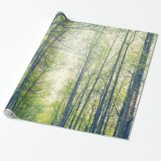 Mystical forest wrapping paper