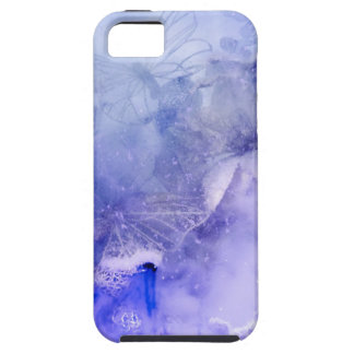 """""""Mystical Garden - Butterflies in Blue"""" collection iPhone 5 Cover"""