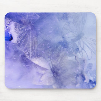 Mystical Garden - Butterflies in Blue collection Mouse Pad
