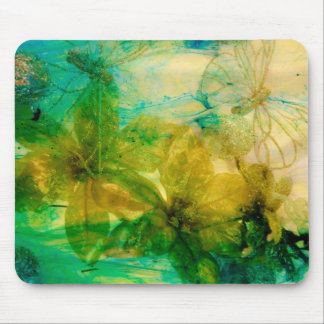 """Mystical Garden - Rays of Gold"" original Lyrical Mouse Pad"
