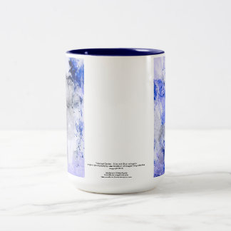 Mystical Garden - Silver and Blue collection Mugs