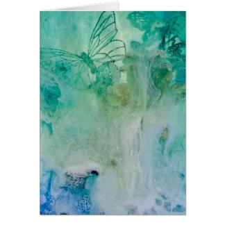 """Mystical Garden - Waterfall"" collection original Card"