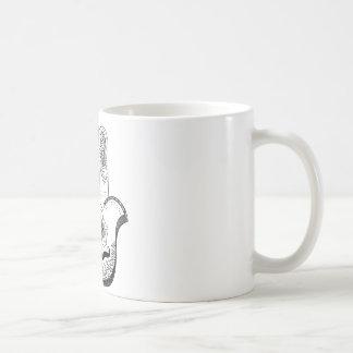 mystical hand basic white mug