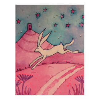 Mystical Hare Postcard
