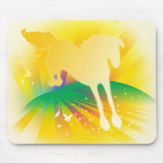 Mystical Horse Mouse Pad