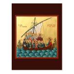 Mystical Icon of the Holy Church Prayer Card