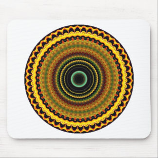 Mystical Kaleidoscope Design 12 Mouse Pad