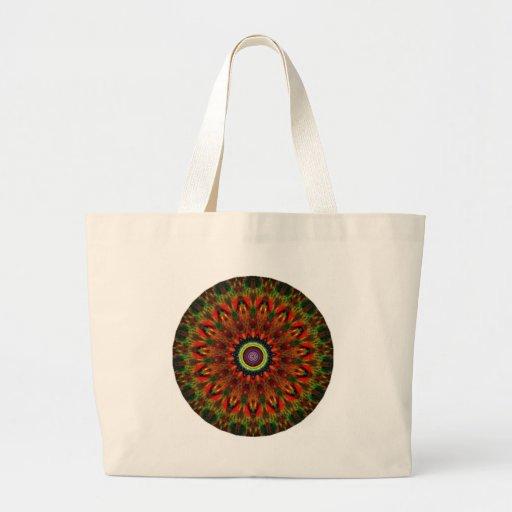 Mystical Kaleidoscope Design 13 Canvas Bags