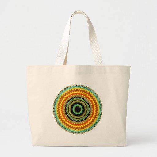 Mystical Kaleidoscope Design 39 Bag