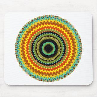 Mystical Kaleidoscope Design 39 Mouse Pad
