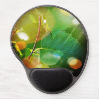 Mystical Leaves in Boothbay Themed Gel Mousepad