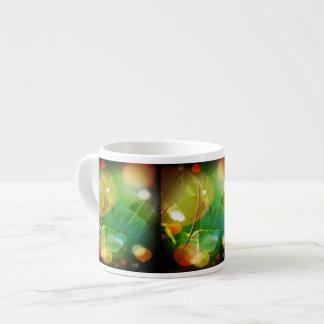 Mystical Leaves of Boothbay Maine Espresso Mug