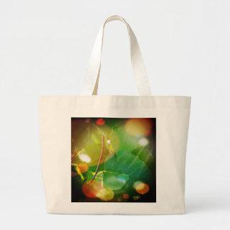 Mystical Leaves of Boothbay Maine Jumbo Tote Jumbo Tote Bag
