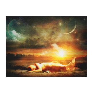 Mystical Mermaid Canvas Print