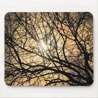 Mystical Moon Mouse Pad