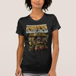 Mystical Nativity by Sandro Botticelli Tshirt