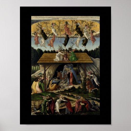 Mystical Nativity Poster